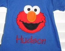 Elmo Super Soft 5.5 oz. Jersey T-shirt Romper 100% cotton