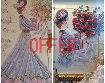 Victorian Valentine Roses and Magic of Love PATTERNS OFFER!