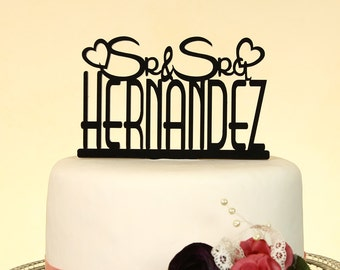 spanish style wedding cake toppers mr and mrs wedding cake topper with by distinctlyinspired 20301