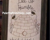 Bee So Humble Stitchery    Instant Download E-pattern