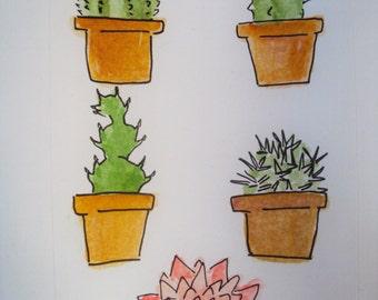 Cacti Sticker Pack