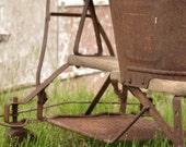 Antique Hand Pulled Stroller