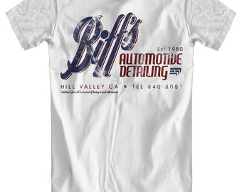 Biff's Automotive Detailing - Back To The Future Inspired T-Shirt