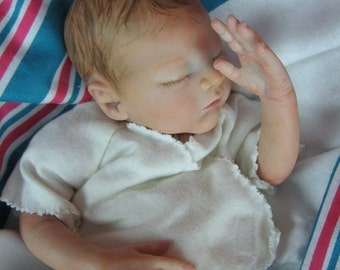 Custom Made  for you... Micro Preemie Reborn Baby Doll at 26 weeks Gestation.   ILoveReborns.com
