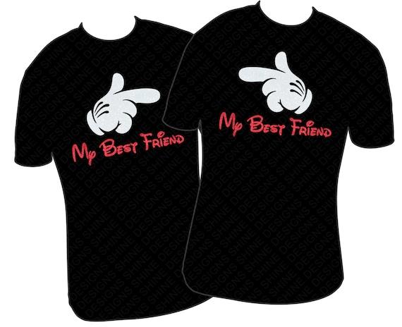 items similar to disney best friends t shirt my best. Black Bedroom Furniture Sets. Home Design Ideas