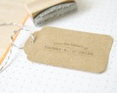 Rubber Stamp Gift - From the library of...