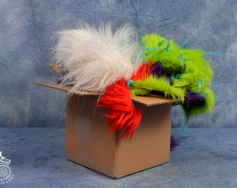Small  High Quality Scrap Fur Box