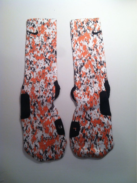 Custom nike elite socks camo