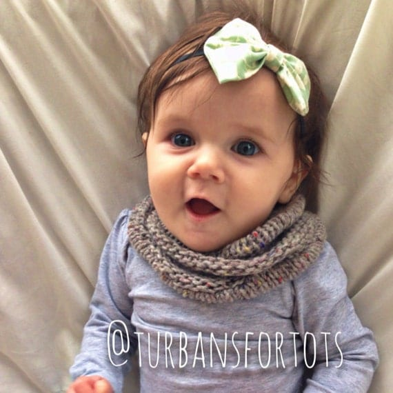 gray baby infinity scarf snood