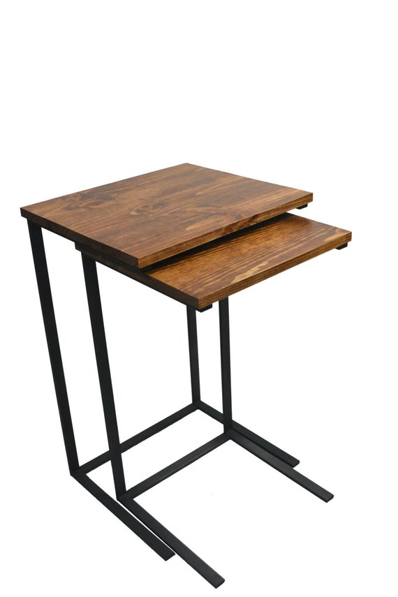 Nesting Tv Tray Tables Set Of Two Laptop By