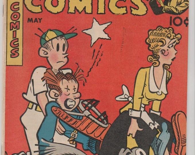 Magic Comics; Vol 1, 106 Golden Age Comic Book.  FN/VF May 1948.  Dave McKay Productions