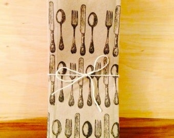 30 Cutlery Bags | Silverware Pouches | Utensil Bags