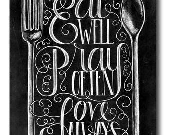 Kitchen Print Kitchen Quote Kitchen Sign Kitchen Art