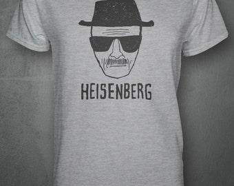Heisenberg Walter White Face Sketch - Breaking Bad Inspired T-shirt