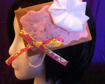 Toaster Pastry Hair Clip (Made to Order)