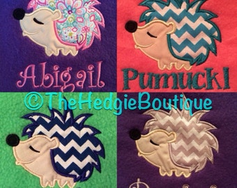 Personalized Hedgehog Name Banner