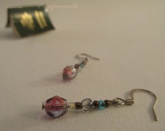 2669 - Earrings Czech Glass