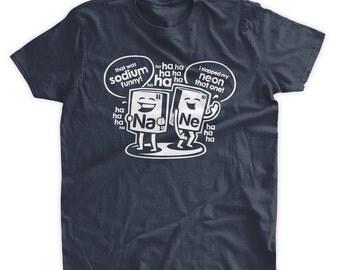 Sodium Funny T-shirt Geek Tshirt Chemistry Tshirt Science School Nerd Gifts for Geeks Family Mens Ladies Womens Youth Kids T-shirt