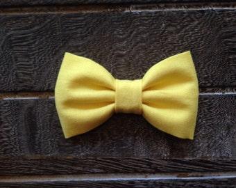 Light Yellow Hair Clip