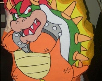 Amazing Bowser from Mario Bros Pinata party !!!!!
