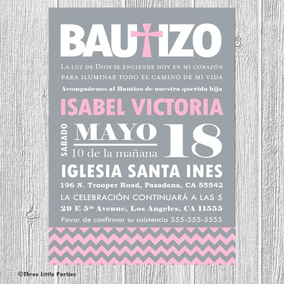 Spanish Baptism Invitations correctly perfect ideas for your invitation layout