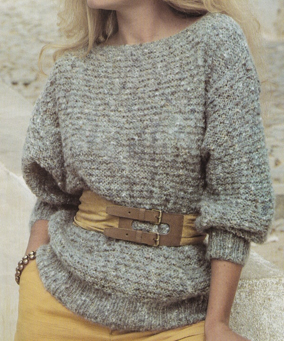 Easy Knitting Patterns Instructions : Vintage knitting pattern instructions to make by