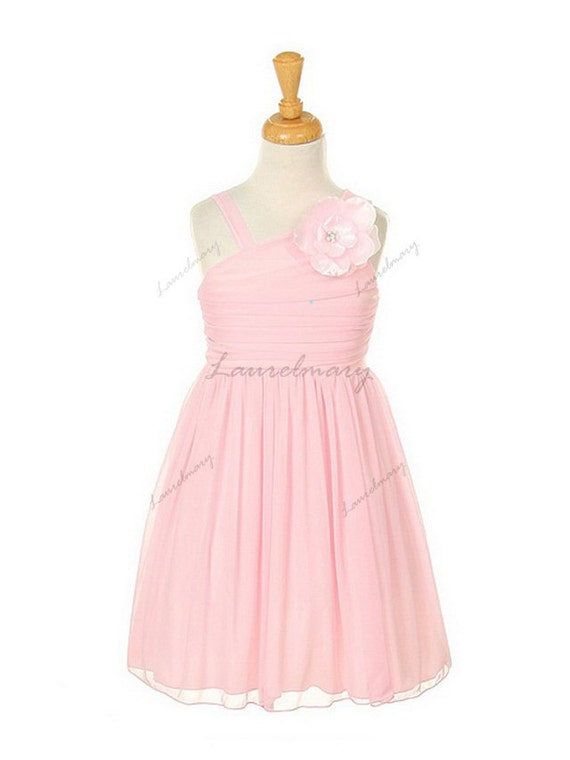 Pink flower girls dress,Flower girls dresses,Bridesmaid dress,lovely princess dress birthday party dress.