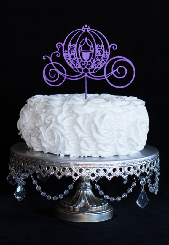 Cinderella Carriage For Wedding Cake