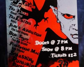 Blackbox, Local H, The Last Vegas-Chicago Halloween 2005 Concert Poster