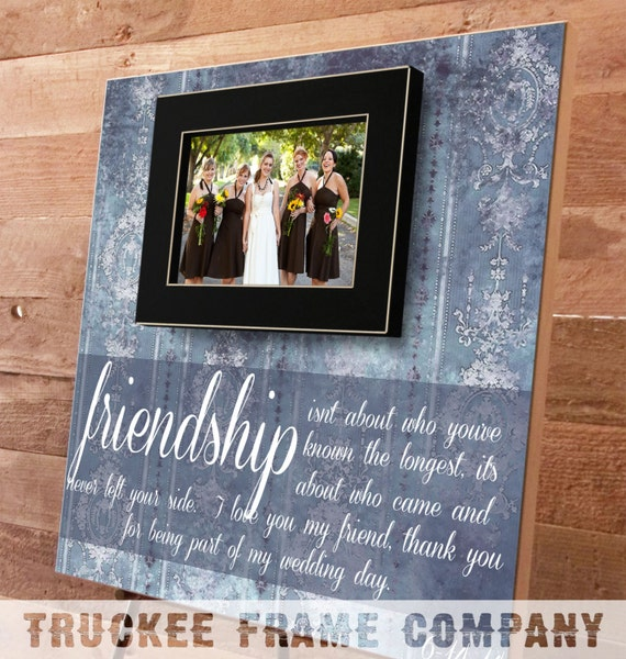 Wedding Day Gifts For Bride From Maid Of Honor : Maid of Honor Gift, Bridal Party Gifts, Bridesmaid Gift, Best Firend ...