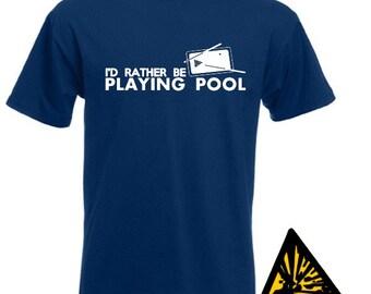 Pool Tshirts Etsy
