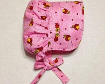 Infant Girl Prairie Bonnet