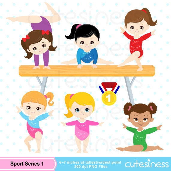 Gymnastic Clipart Gymnastic Clip Art Gymnastic Girl Clipart
