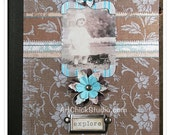 Altered Composition Book Journal - Explore