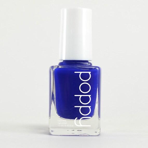 Bijoux 151  - 5 Free Nail Polish, Vegan - Blue, Cerulean