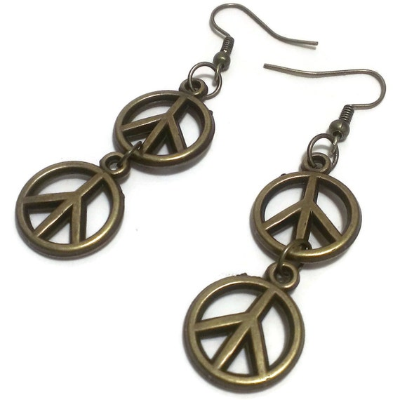 60's Mod jewelry & hippie jewelry: 60s earrings & more