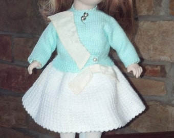 "Armand Marceille 13"" Porcelain Doll"