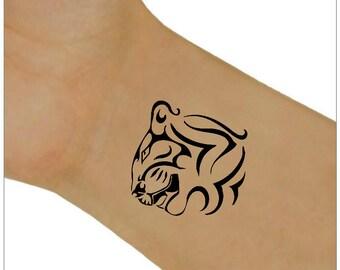 Temporary Tattoo TIger Ultra Thin Fake Tattoo Waterproof