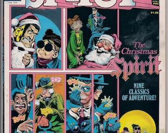 The CHRISTMAS SPIRIT #12 1976 Will Eisner Warren Publications Black and White Comics