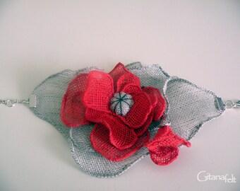 Natural Linen Bracelet