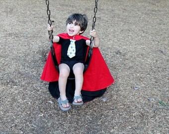 Reversible Kid's Cape Sewing Pattern, Toddler superhero cape tutorial, children's sewing pattern Digital Download PDF