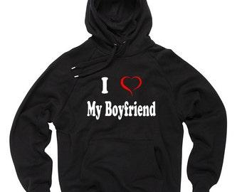 I Love My Boyfriend T-Shirt Gift For Girlfriend Tee Shirt