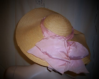 Original Jay Thorpe Fine Straw Picture Hat