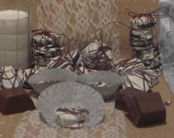 White Chocolate Covered Oreo Cookies