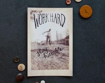 Work Hard | Postcard
