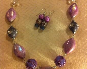 Lavender Love Necklace