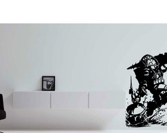 Bioshock Big Daddy & Little Sister Wall Decor Vinyl Decal