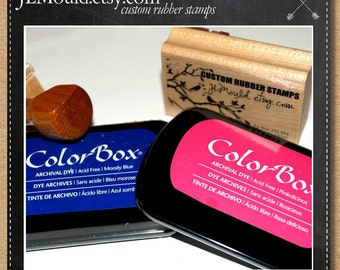JLMould Rubber Color Box Archival Ink Pad Permanent  - Choose the Color