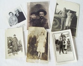 Vintage Photograph Portraits  - Happy Couples - Valentines - Antique 1910, 1920s, 1930s, 1940s, 1950s