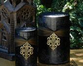 Freyja Goddess Warrior Pillar Candles